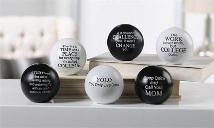 13- Inspirational orbs - College sayings