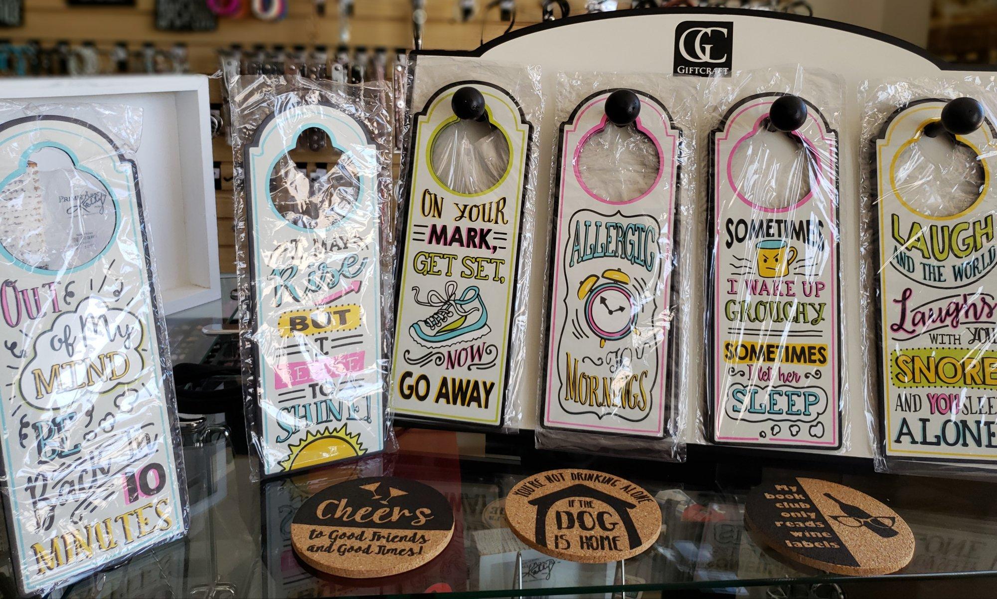 13- Door Hanger Sayings