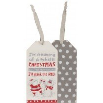 03- Bottle tag - White Christmas