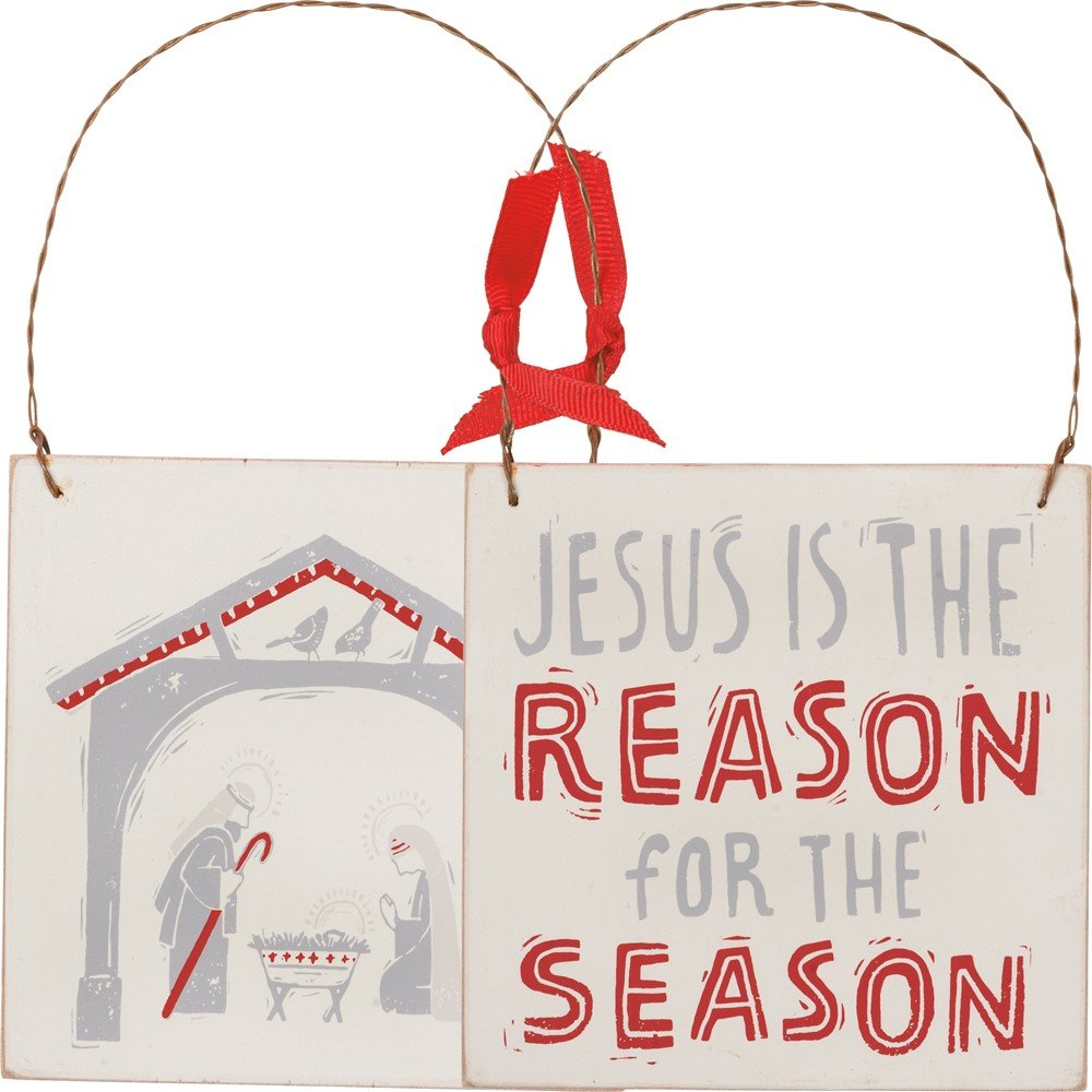 03- Ornament - Jesus is the Reason