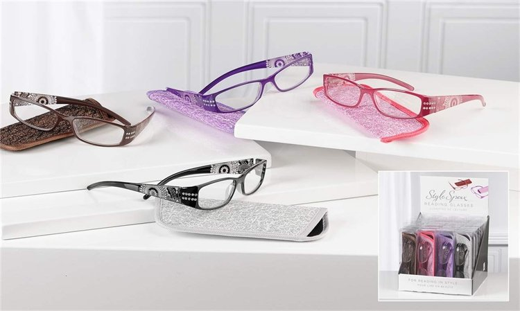13- Reading Glasses w/pouch