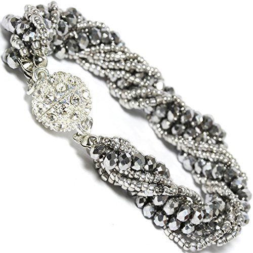 04- Chic Jewelry Bracelet Crystal Magnetic (Variety)
