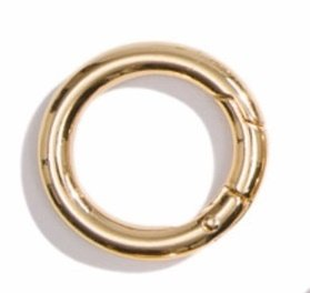 16- 1 Gold carabiners SINGLE (only 1)