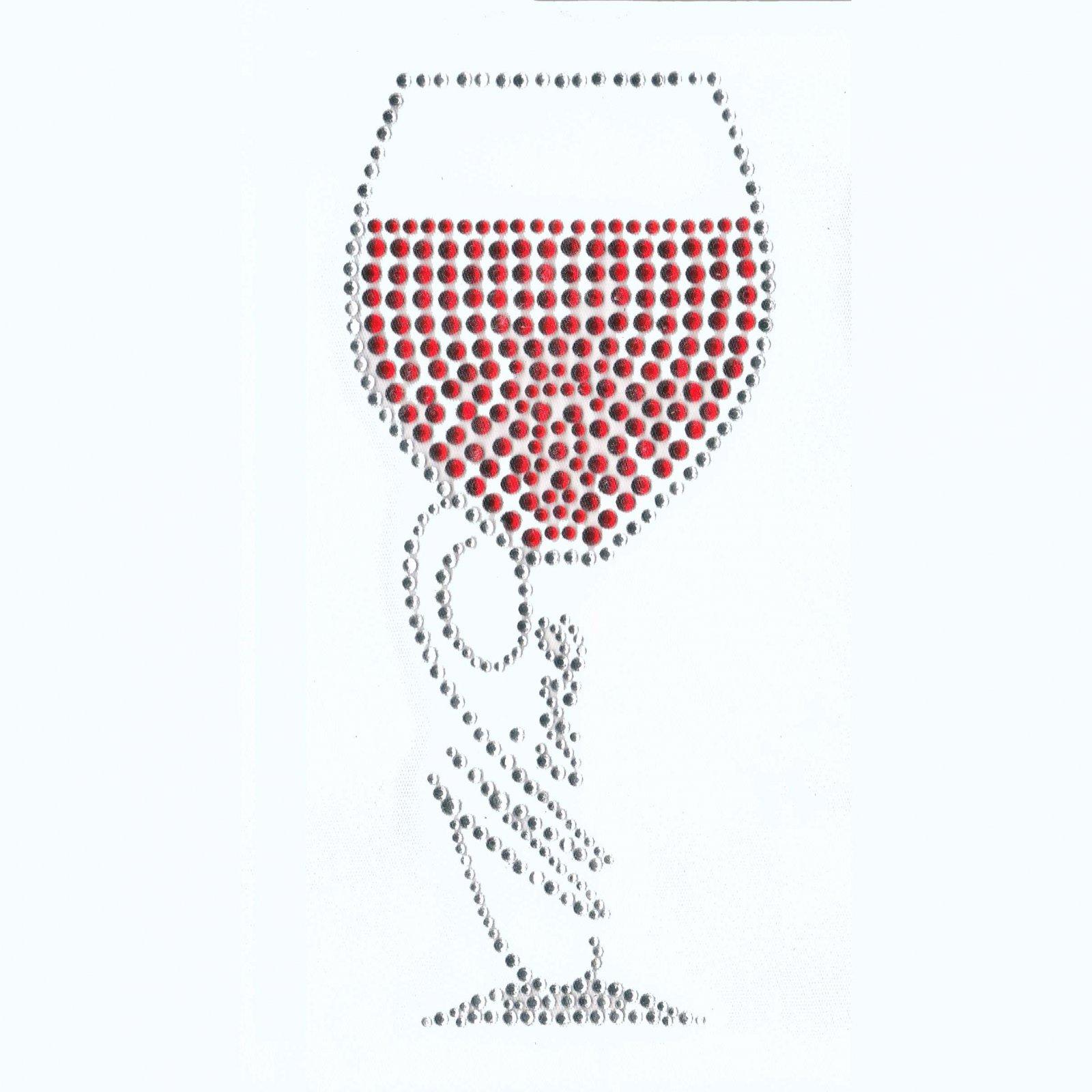03- t shirt Wine glass