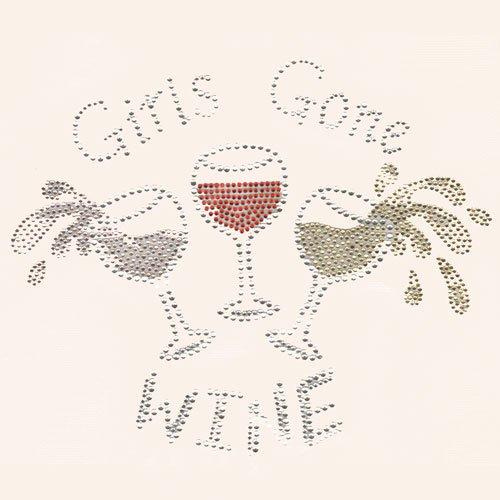 03- apron Girls gone wine