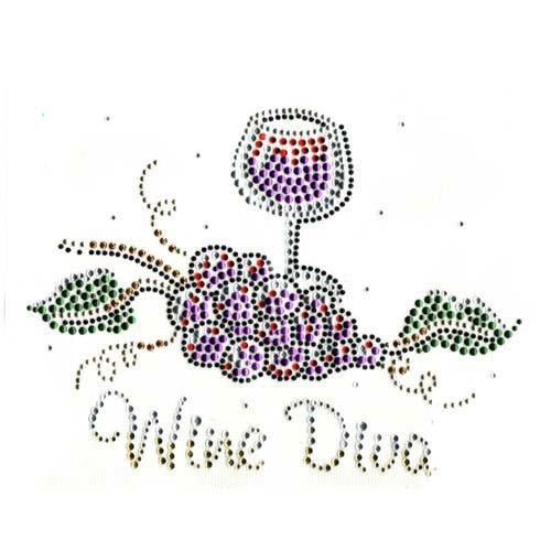 14- T-shirt Wine Diva