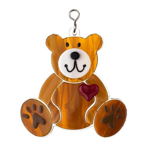 03- Stained glass - teddy bear