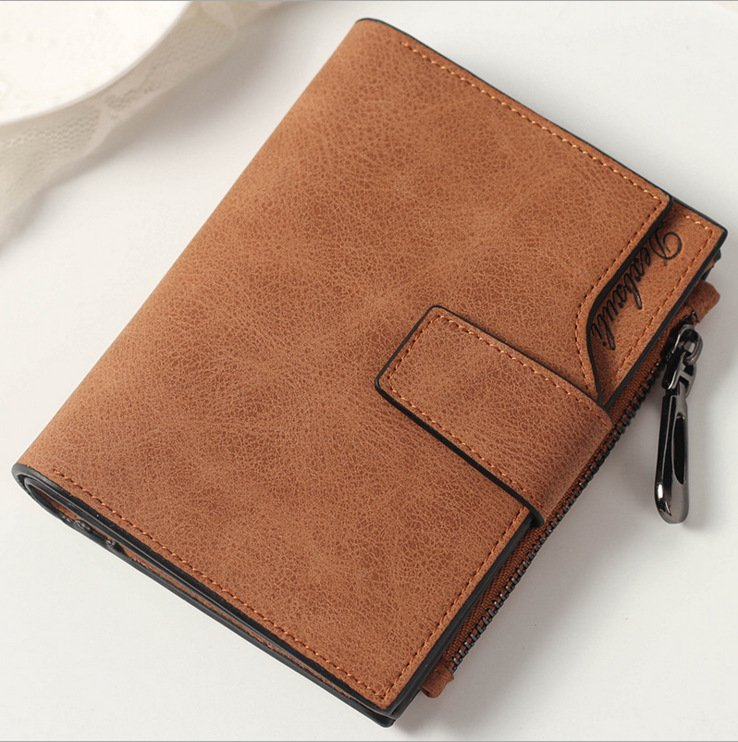 03-  PU Leather Wallet, with Polyester