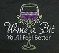 14- T-shirt Wine a Bit