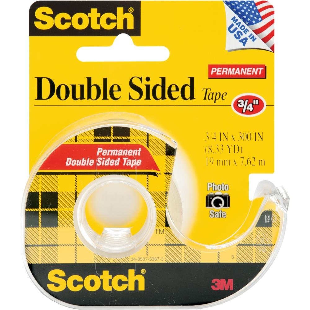 3/4 DOUBLE SIDED TAPE