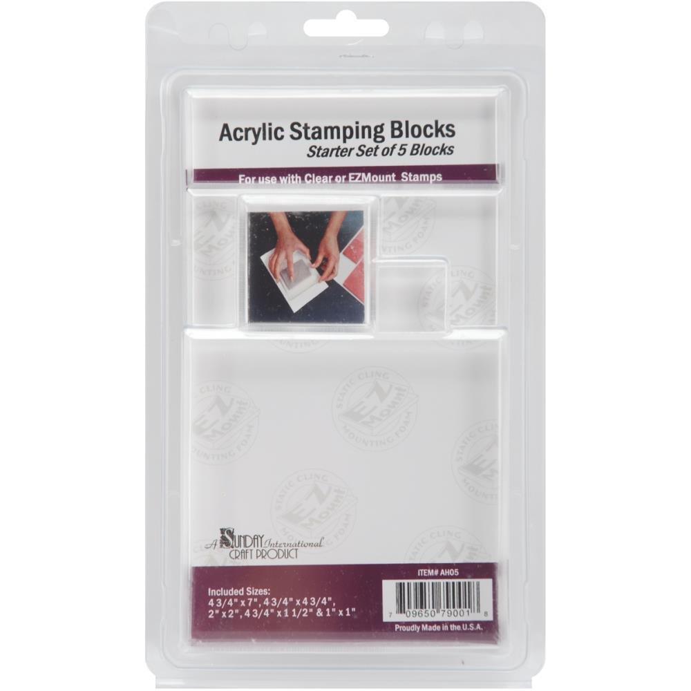 ACRYLIC BLOCKS 5 PK