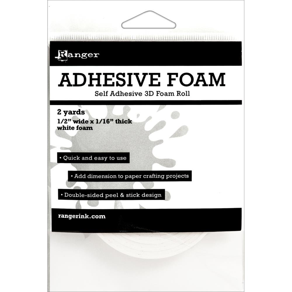 ADHESIVE FOAM WHITE