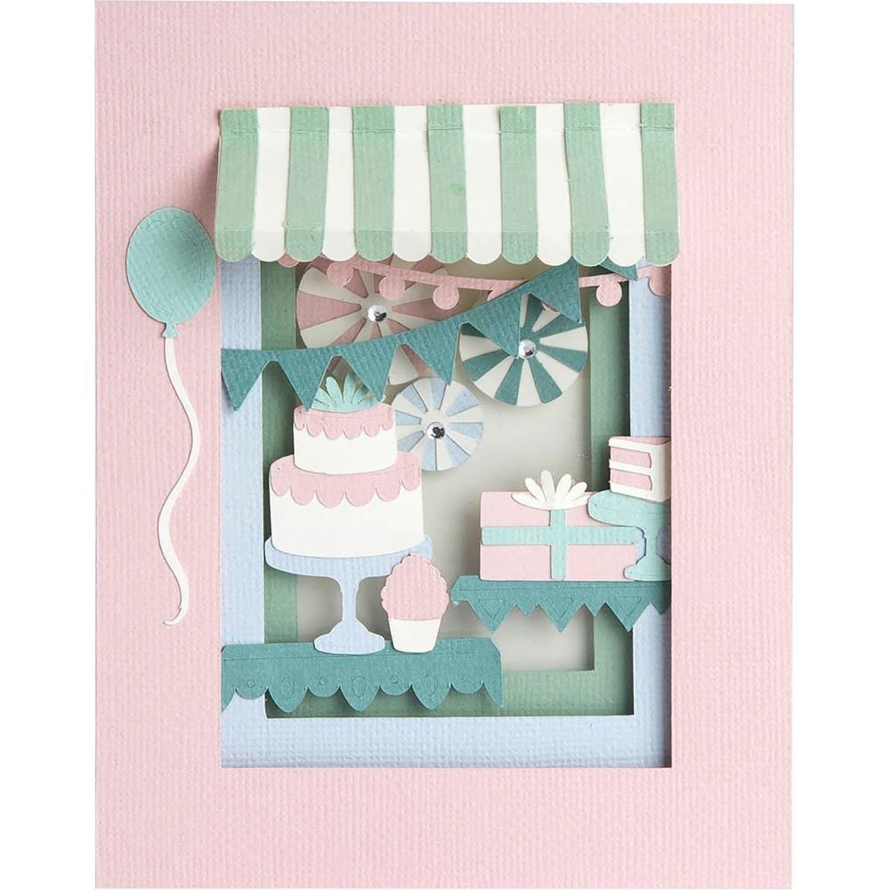 BIRTHDAY SHADOW BOX