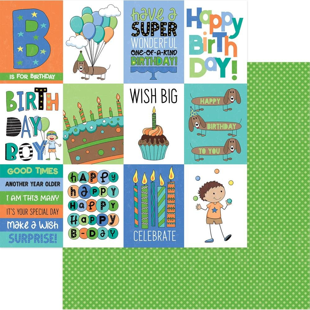 BIRTHDAY BOY WISHES COLLECTION