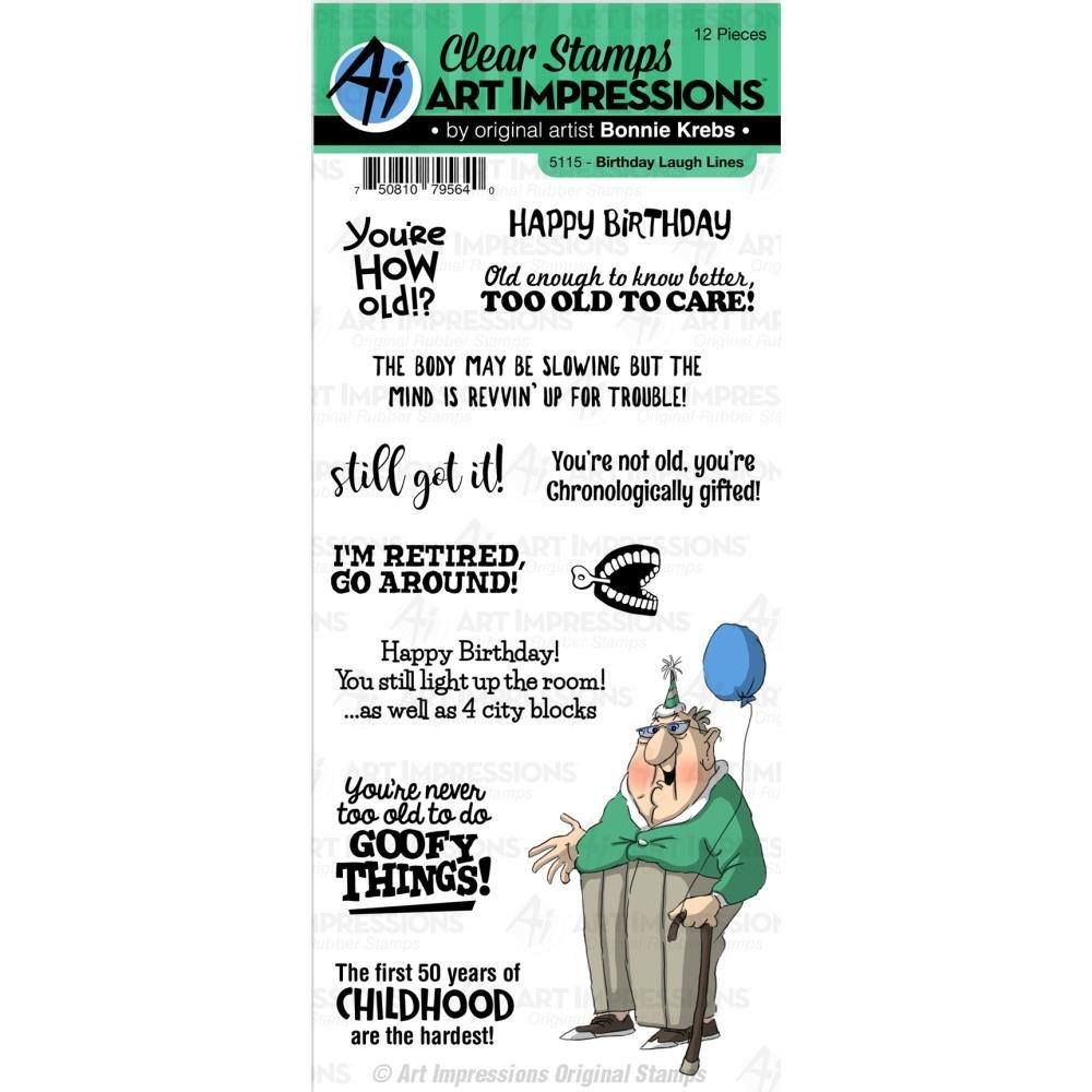 BIRTHDAY LAUGH LINES