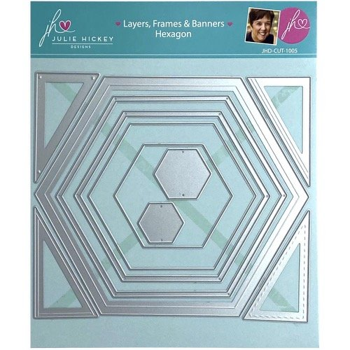 LAYERS, FRAMES & BANNERS HEXAGON
