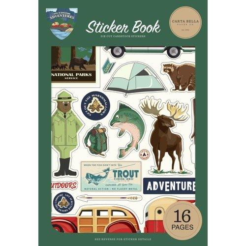 OUTDOOR ADVENTURES STICKER BOOK