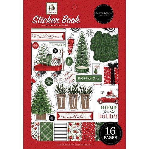 HOME FOR CHRISTMAS STICKER BOOK