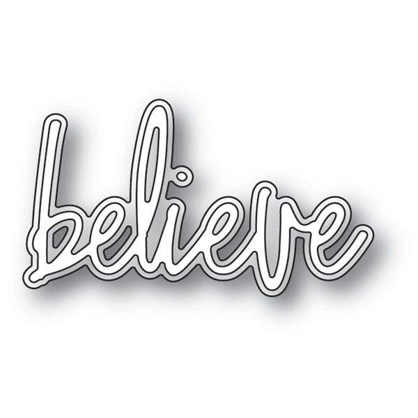 BELIEVE JOTTED SCRIPT