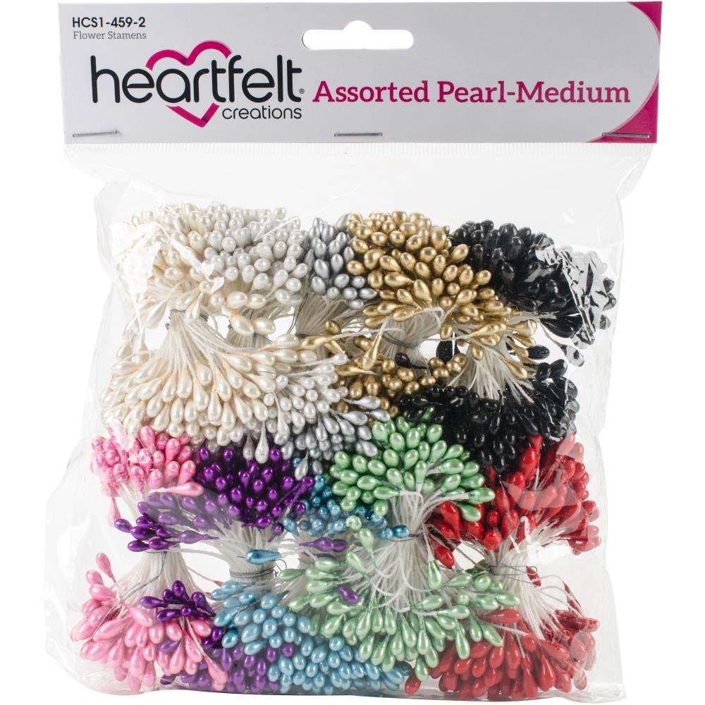 ASSORTED PEARL MEDIUM STAMENS