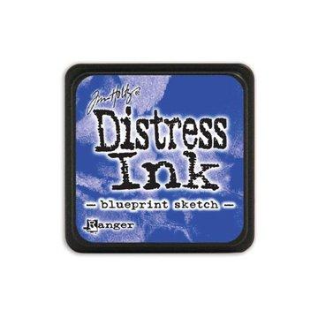 Mini Distress Pad,Blue/Turquoise Color Family