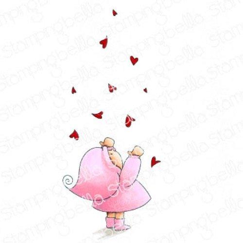 BUNDLE GIRL WITH FALLING HEARTS