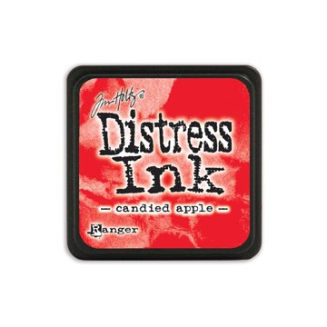 Mini Distress Pad,Red/Pink Color Family