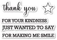 THANK YOU SENTIMENTS