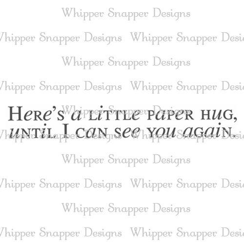 A LITTLE PAPER HUG
