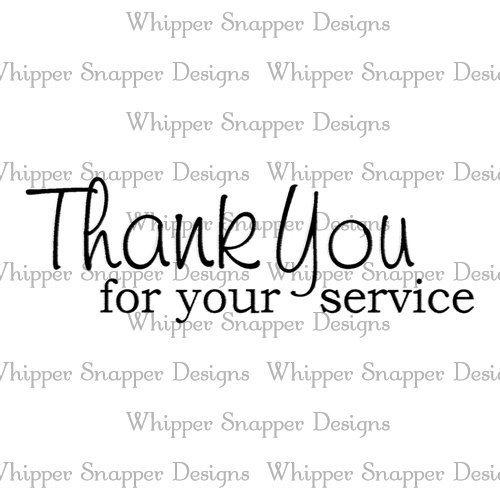 SERVICE THANK YOU