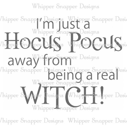 A REAL WITCH