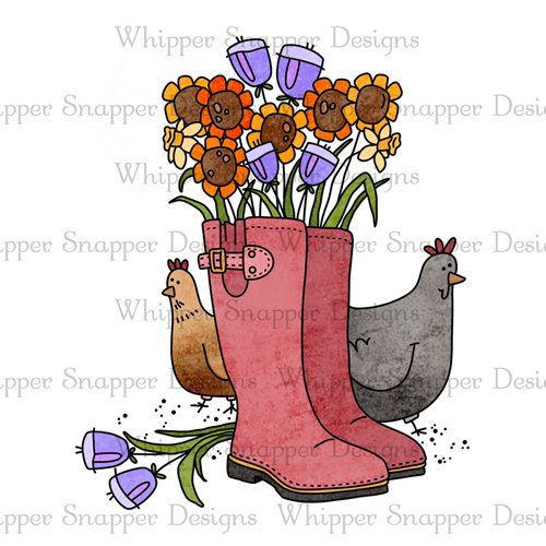CHICKENS N' BOOTS