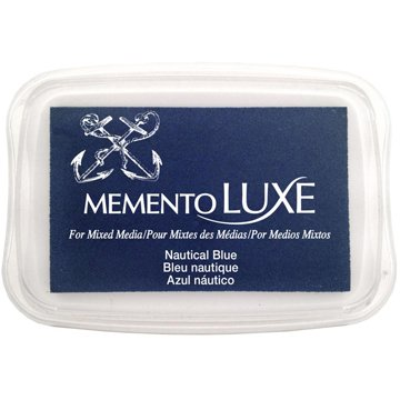 Memento Luxe Ink Pad,Blue/Turquoise Color Family