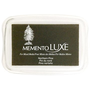 Memento Luxe Ink Pad,Green Color Family