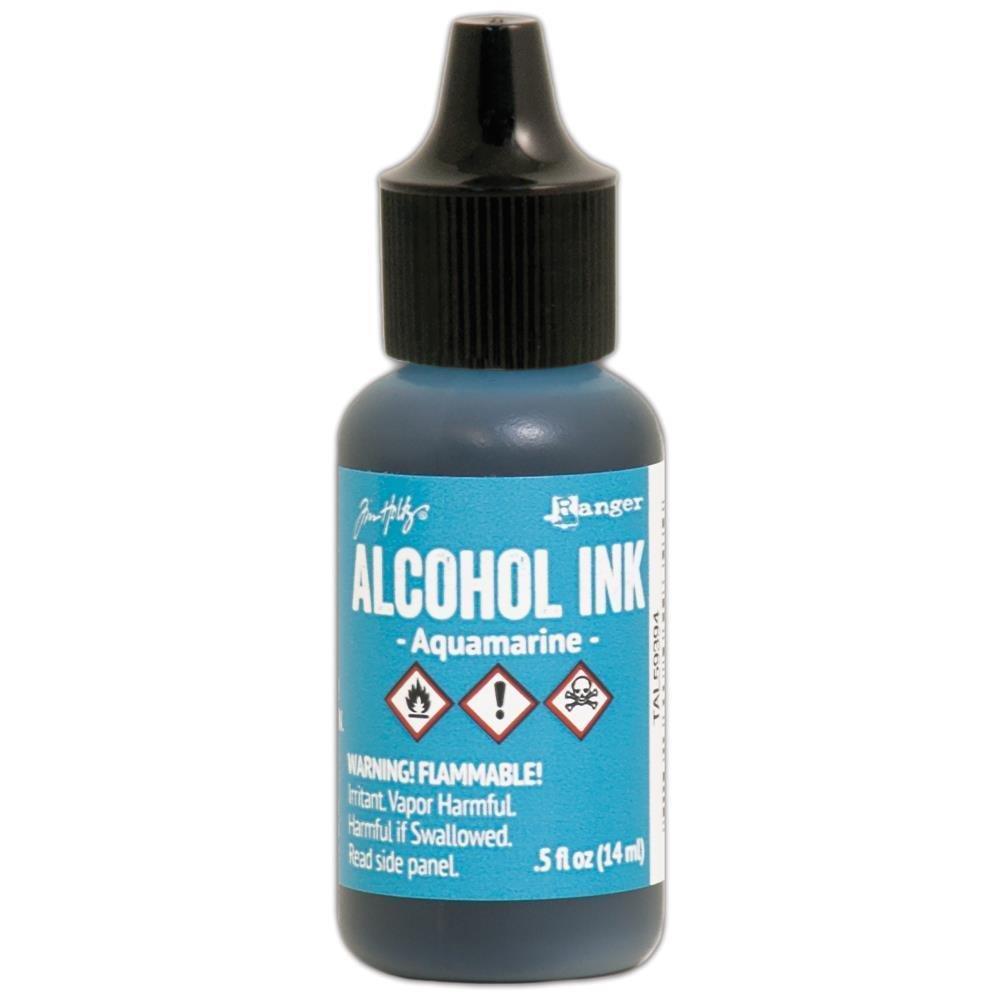AQUAMARINE ALCOHOL INK
