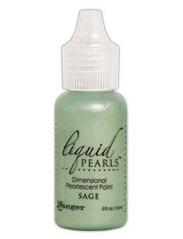 Liquid Pearls,Green Color Family