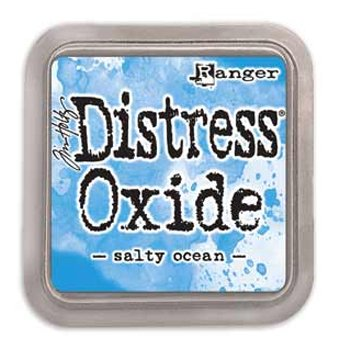 Distress Oxide Ink Pad, Blue/Turquoise Color Family