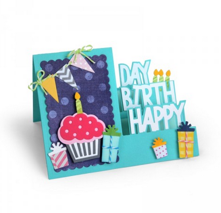 BIRTHDAY STEP-UP CARD