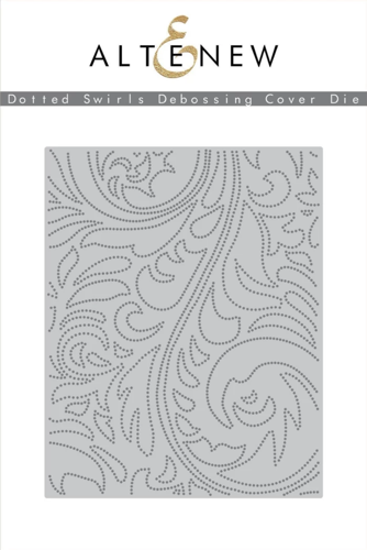 DOTTED SWIRL DEBOSSNG