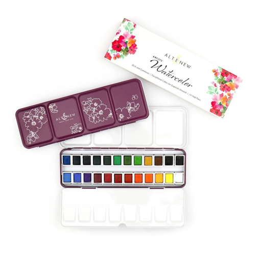 ARTISTS' WATERCOLOR PAN SET