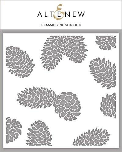 CLASSIC PINE STENCIL B