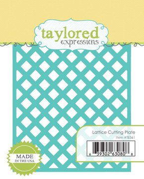 LATTICE CUTTING PLATE