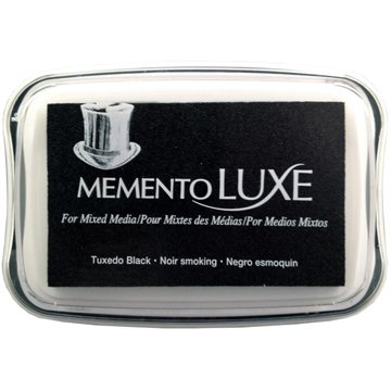 Memento Luxe Ink Pad,Brown/Black Color Family