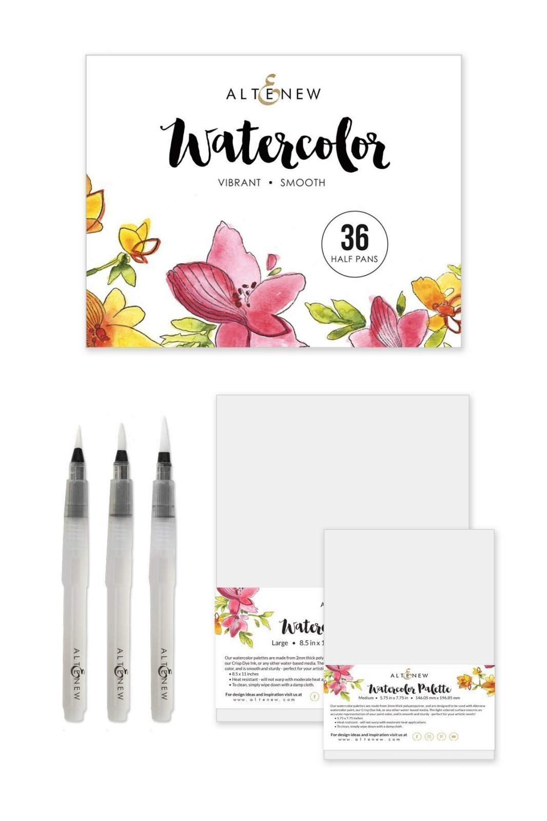 WATERCOLOR ARTIST BUNDLE