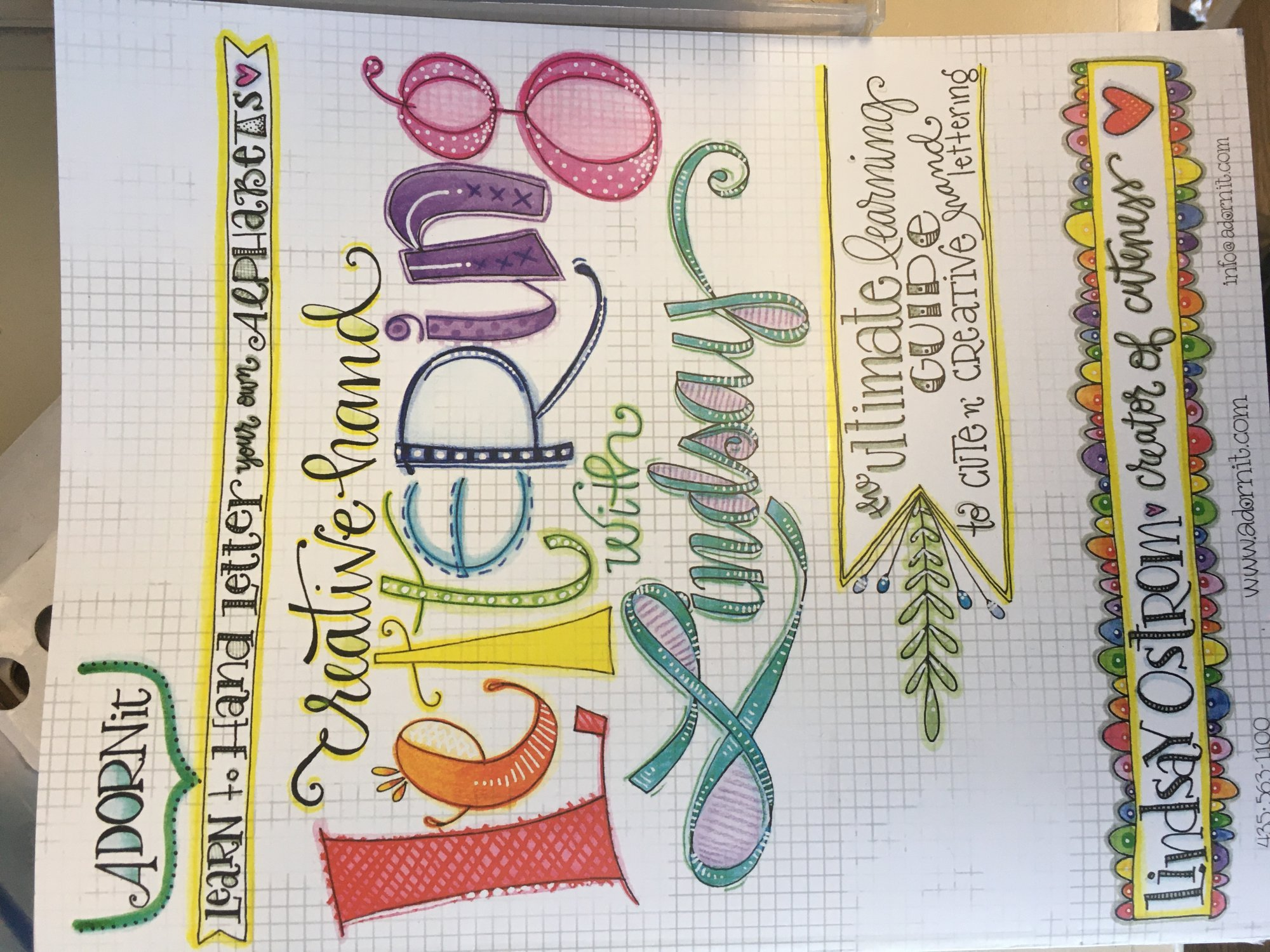 Creative Hand Lettering with Lindsay