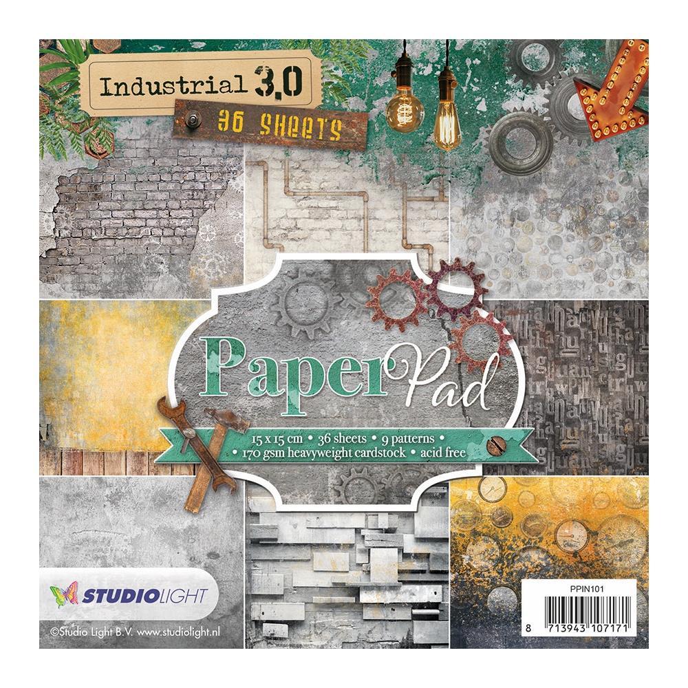 Paper Pad - 6 x 6 Industrial 3.0 #101 (SL)