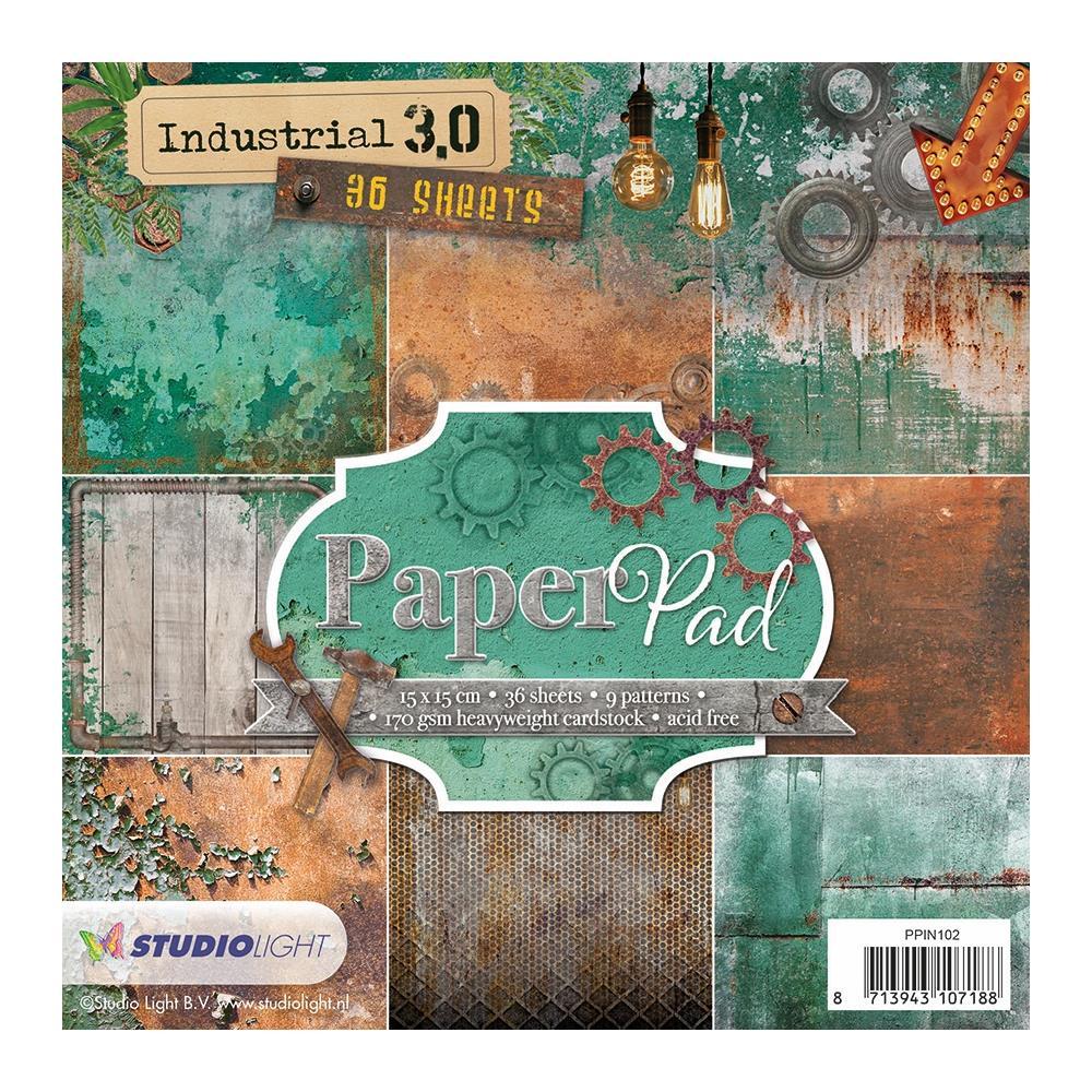Paper Pad - 6 x 6 Industrial 3.0  #102 (SL)