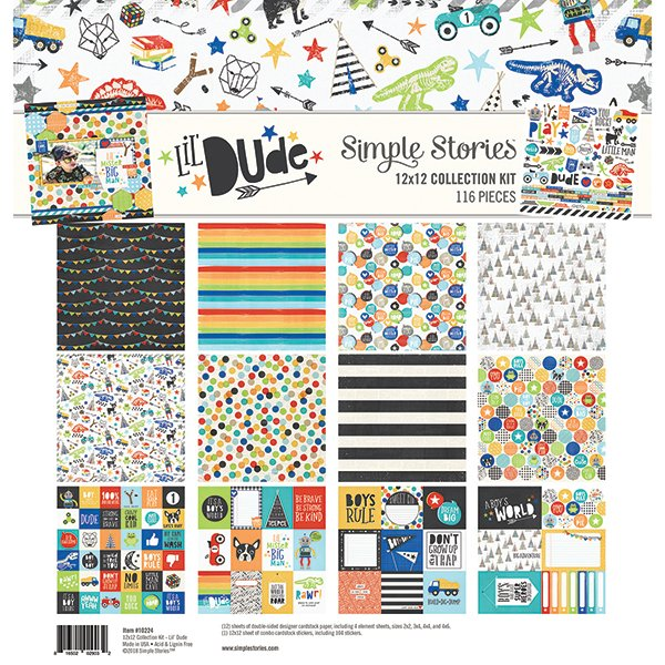 Lil' Dude 12x12 Collection Pack (Simple Stories)