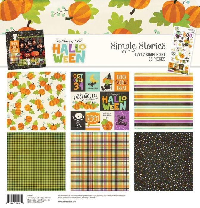 Happy Halloween 12x12 Simple Set (Simple Stories)