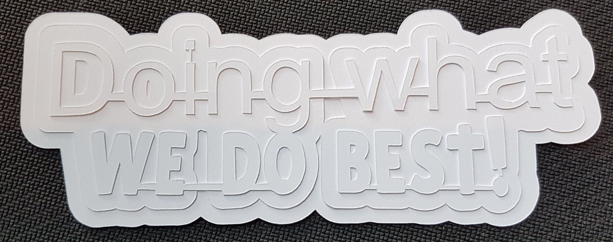 Media Titles - Doing What We Do Best (NB)